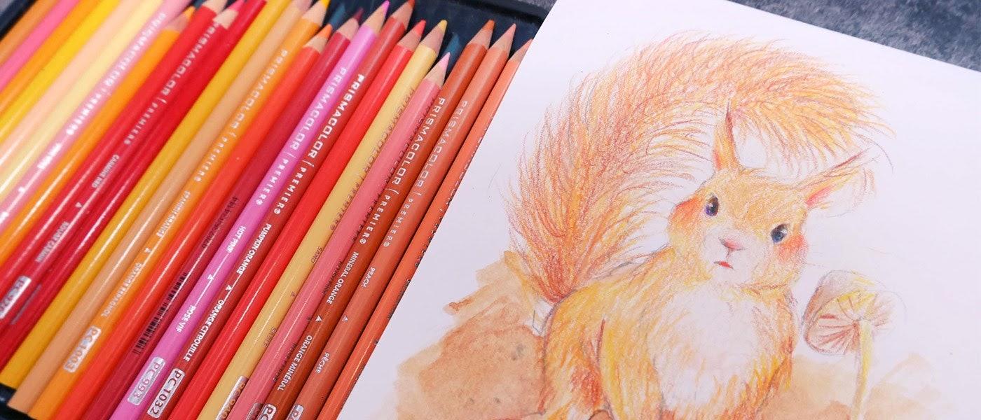 插畫設計師推薦10款色鉛筆新手入門必備用品