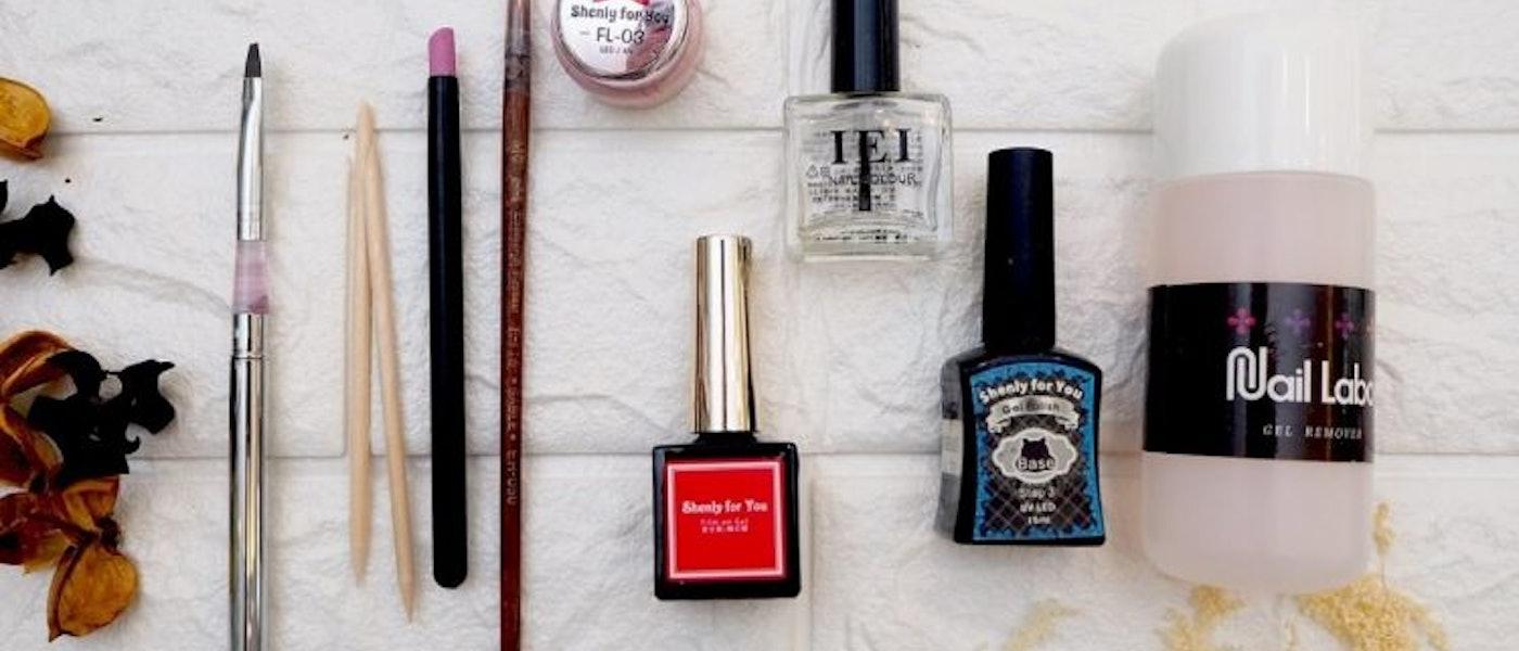 美甲師推薦9款愛用的指甲彩繪DIY用具