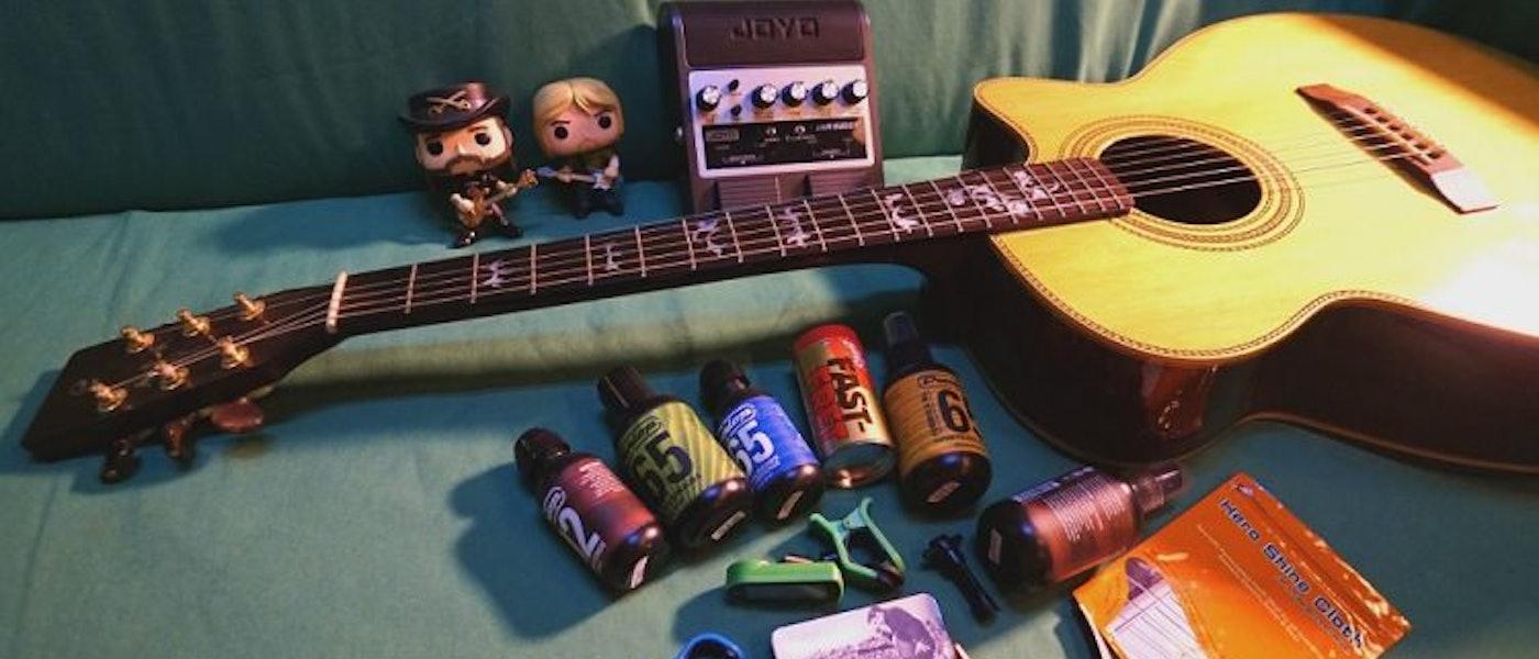 吉他老師推薦9款木吉他用新手必備用品及器材