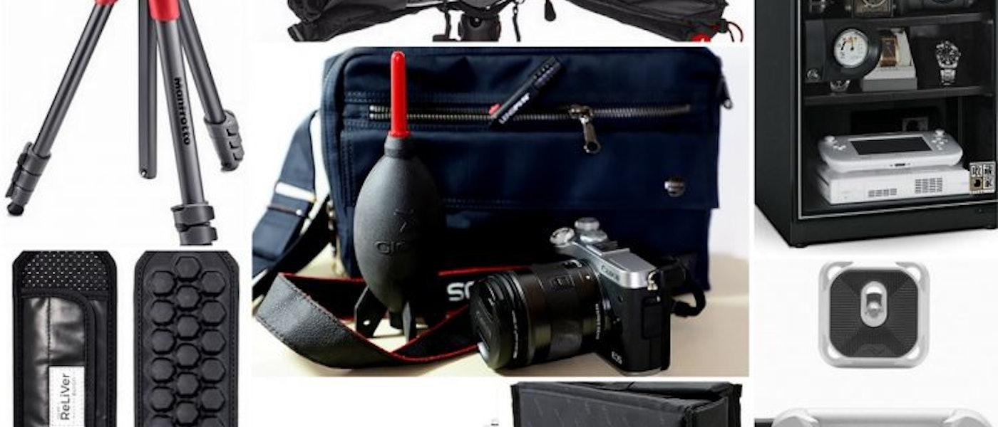 攝影愛好家推薦10款微單眼新手必備用品
