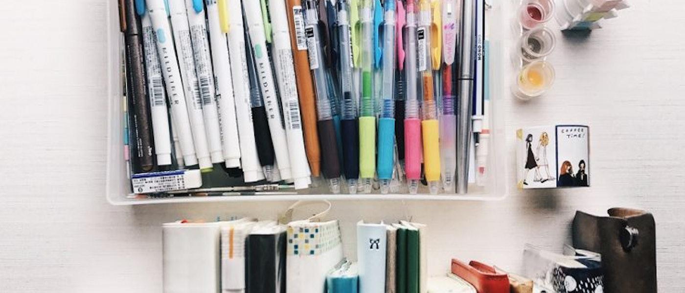 文具愛好者推薦10款愛用的手帳紀錄文具
