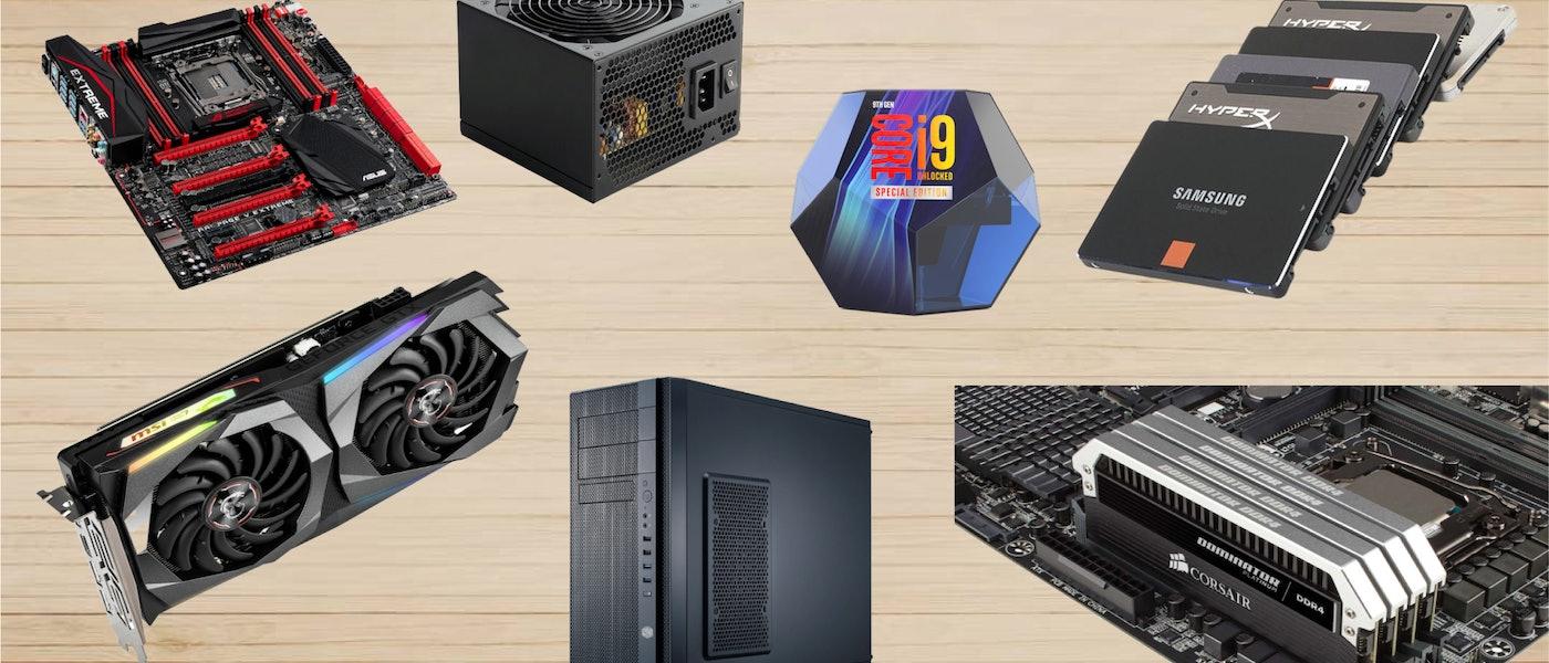 電腦組裝玩家推薦10款市售組裝電腦入門必備零件