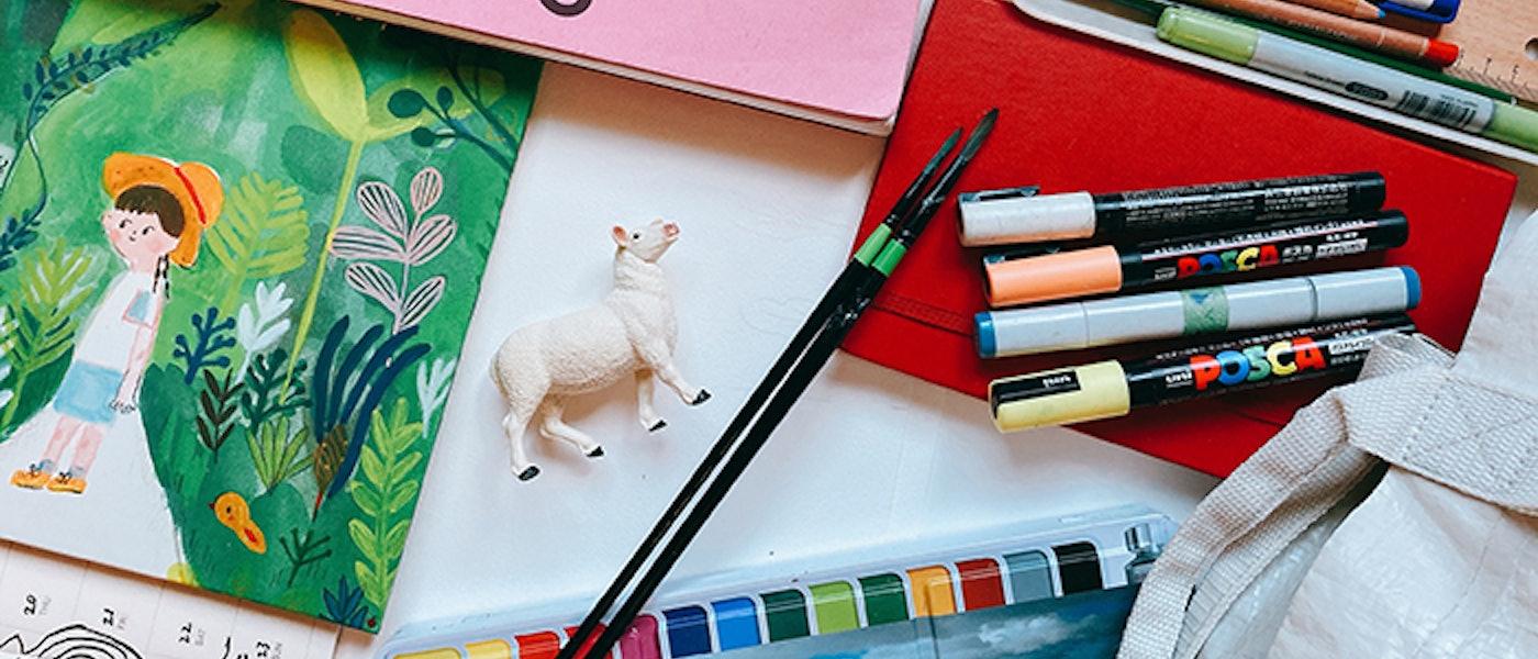 繪本作家推薦7款愛用的繪本製作道具