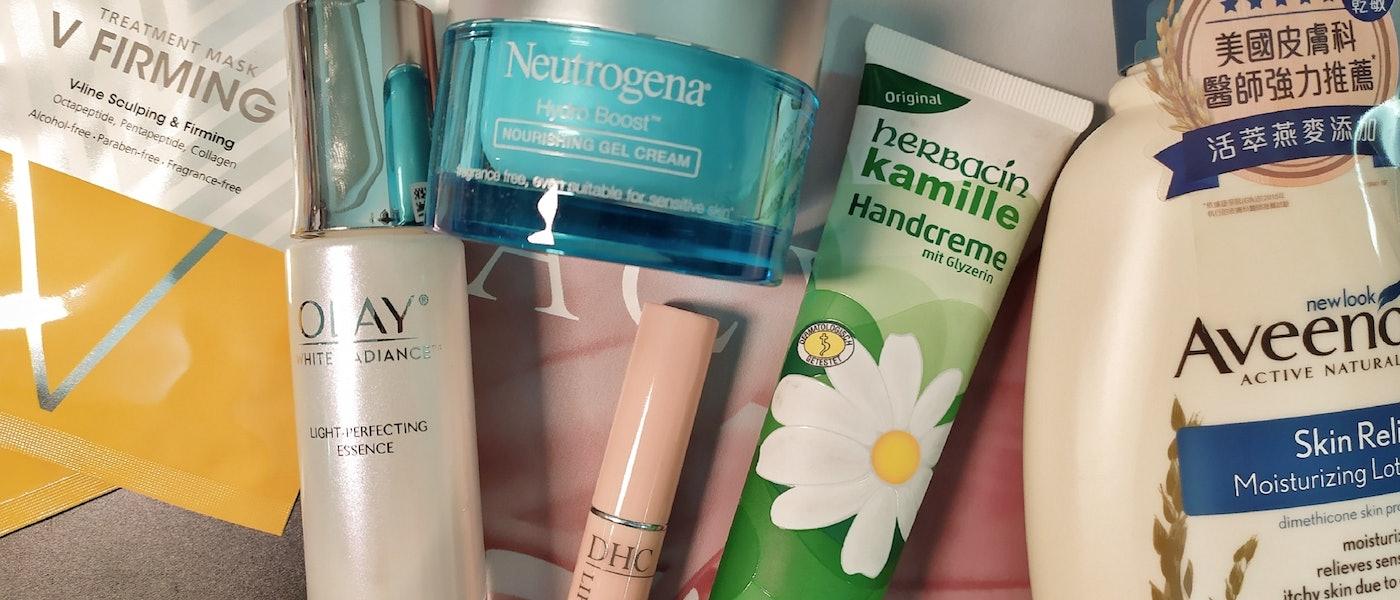 美妝保養部落客推薦6款敏感肌適用平價保養品