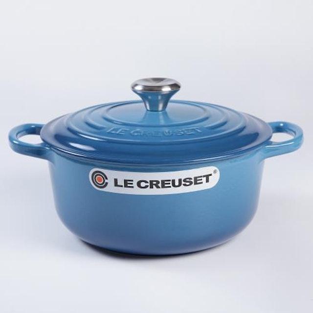 Le Creuset 圓形琺瑯鑄鐵鍋 22cm 3.3L 1