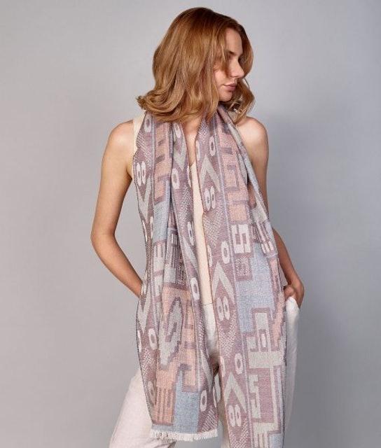 SOL ALPACA 羊駝毛圍巾 1