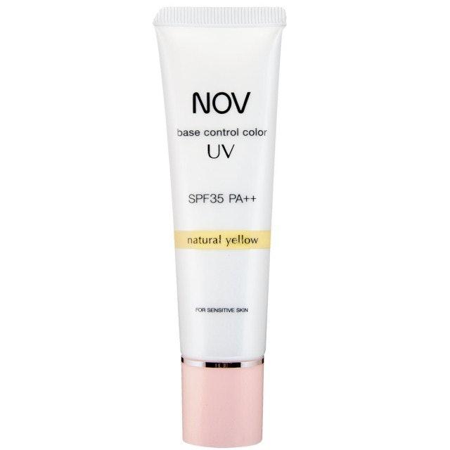 NOV娜芙 檸黃SPF35 .PA++潤色防曬隔離霜 1