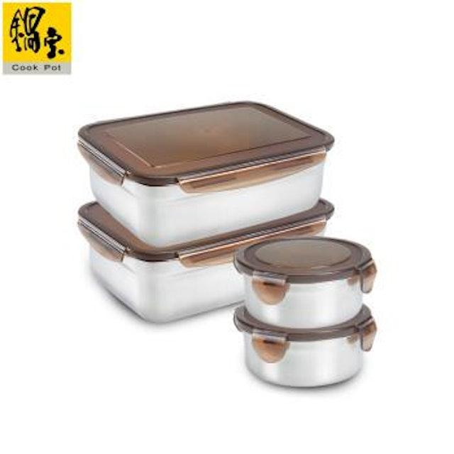 鍋寶  316不鏽鋼保鮮盒 1