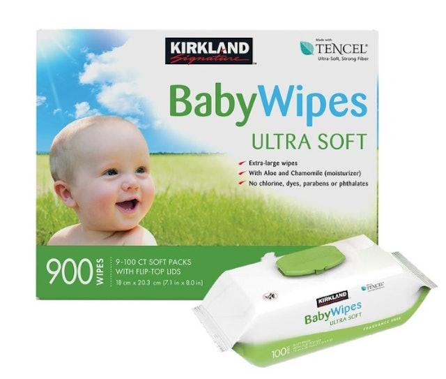 Kirkland Signature科克蘭 超柔軟嬰兒濕巾 1