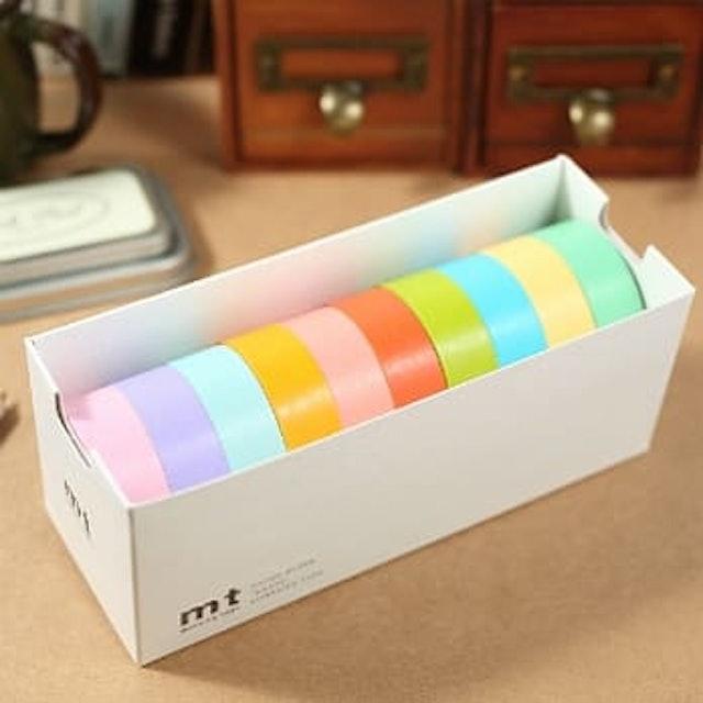 mt 經典明色和紙膠帶 10入組 1