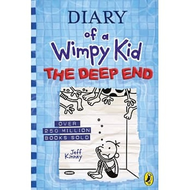 Jeff Kinney Diary of a Wimpy Kid 1