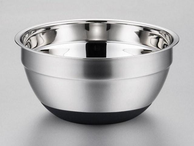 烘焙具匠 加深不銹鋼矽膠底防滑打蛋盆 1