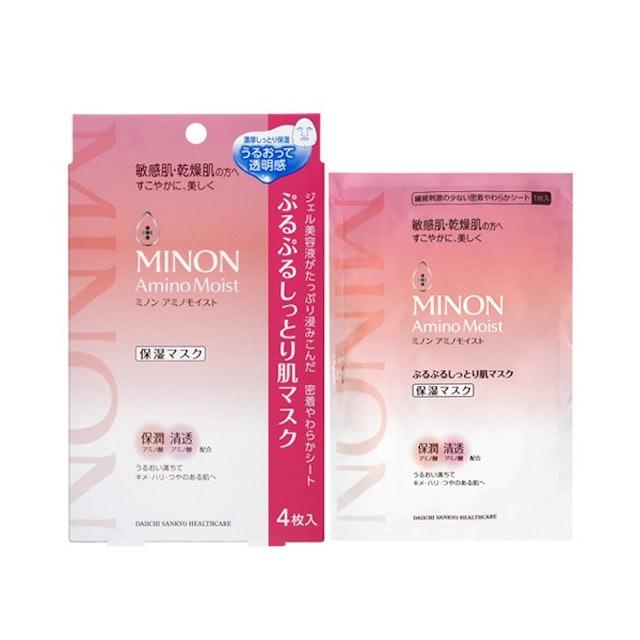 蜜濃MINON 水潤保濕修護面膜 1