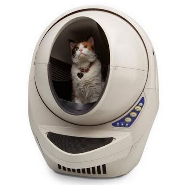 喵星人太空艙 自動貓砂機 1