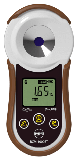 HM DIGITAL 韓國原裝進口數字型咖啡濃度計 RCM-1000BT 1