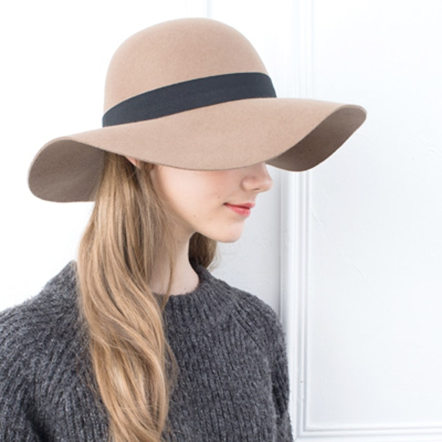 Aurelia 龐德女郎寬簷帽 1