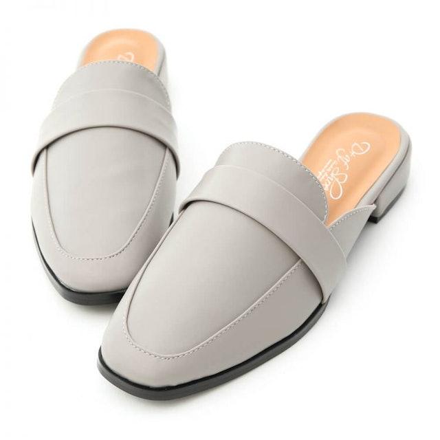 D+AF 簡約設計方頭穆勒鞋 1
