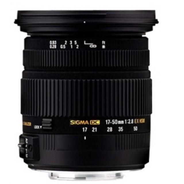 SIGMA 17-50mm 廣角變焦鏡頭 1