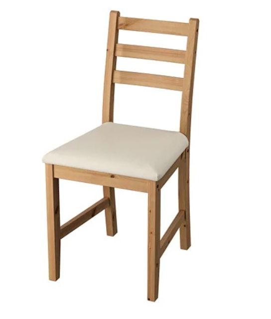 IKEA LERHAMN 餐椅 1