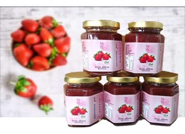 高峰農場 無毒草莓果醬 1