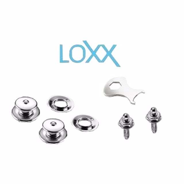 LOXX E-NICKEL 電吉他安全背帶扣 1