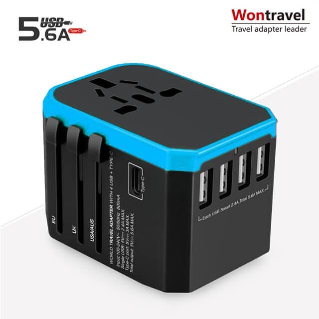 Wontravel 全球通用旅行轉換插頭 JY-305 PLUS 1