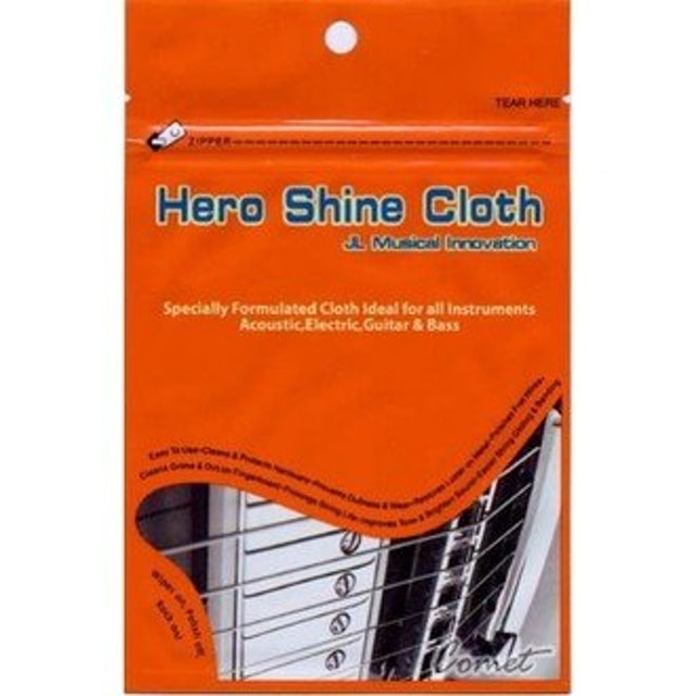 Hero Shine Cloth 吉他保養擦拭布 1