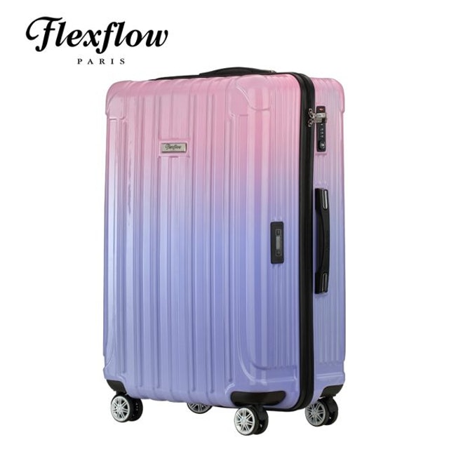 Flexflow 里爾系列 智能測重防爆拉鍊旅行箱 1