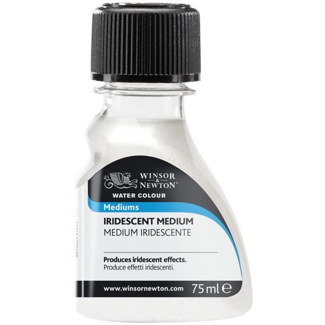 英國Winsor&Newton溫莎牛頓 Iridescent Medium水彩閃爍輔助劑/75mL 1