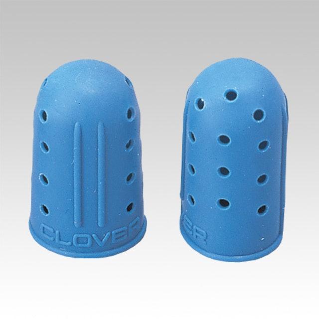Clover可樂牌 藍色橡膠指套 1