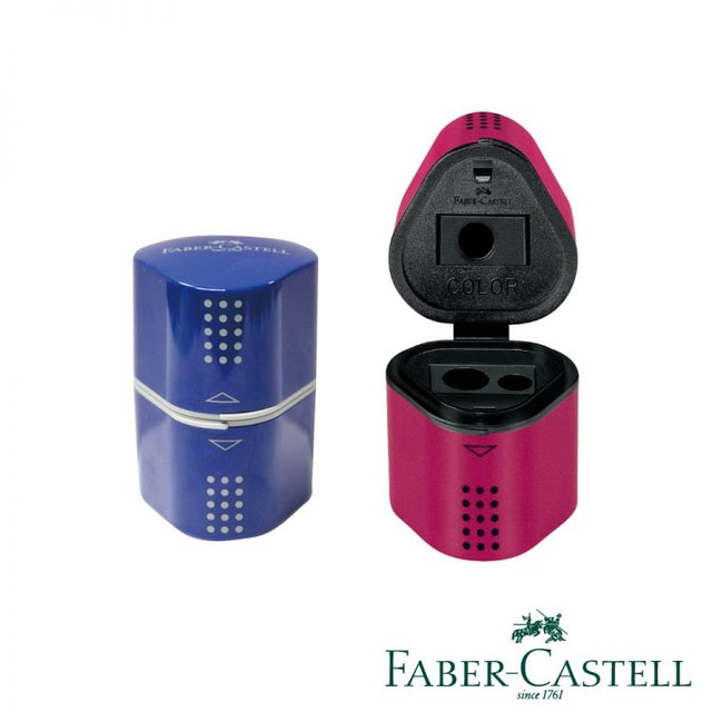Faber-Castell輝柏文具 Design精緻多功能削筆器 1
