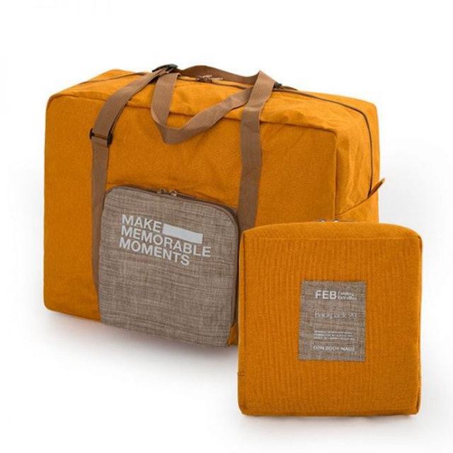JIDA 大容量可摺疊拉桿收納旅行袋 1