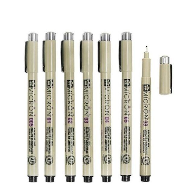 日本SAKURA櫻花 PIGMA MICRON 筆格邁代針筆 1