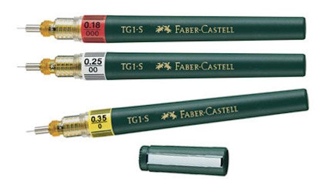 Faber-Castell輝柏文具 0.2mm不鏽鋼製圖針筆 TG1-S 1