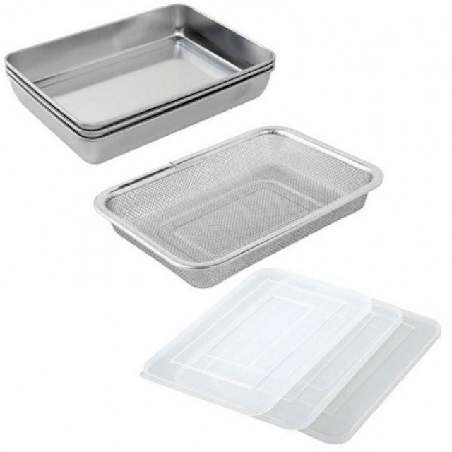 日本Arnest 不鏽鋼食物保鮮盒 1