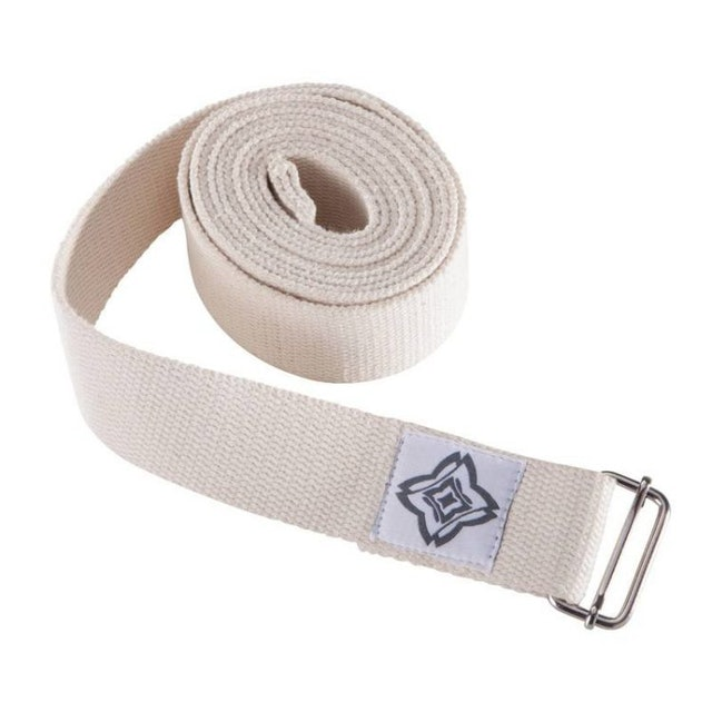迪卡儂 DOMYOS 有機棉可機洗瑜珈帶/瑜珈繩 1