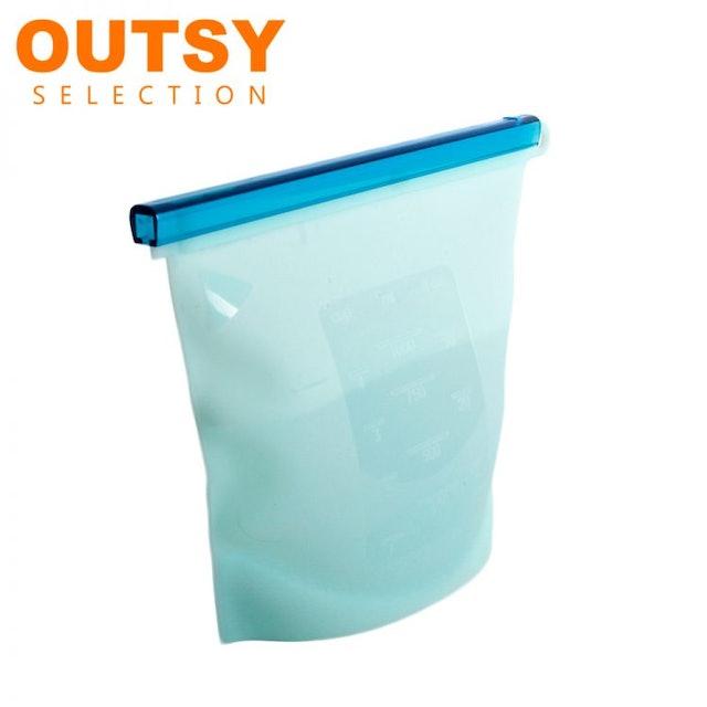 OUTSY 果凍QQ矽膠密封食物袋 1