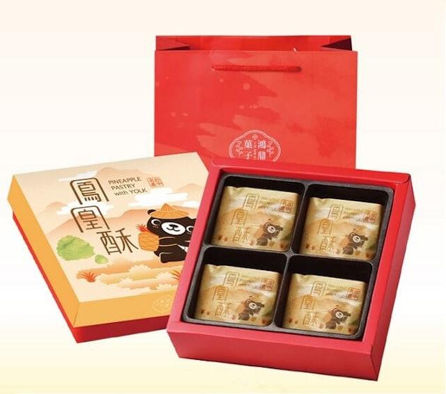 鴻鼎菓子 鳳凰酥&綜合堅果塔 1