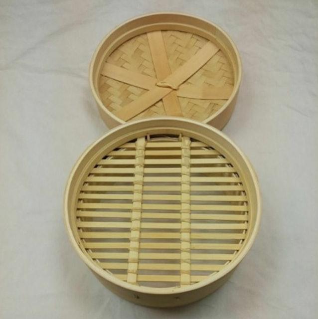 竹木造咖 8.8吋蒸籠 1