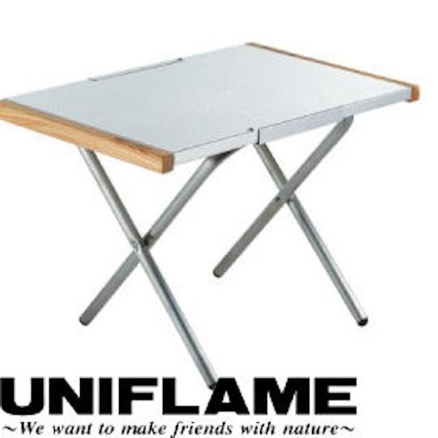 UNIFLAME 折疊不鏽鋼小鋼桌 682104 1