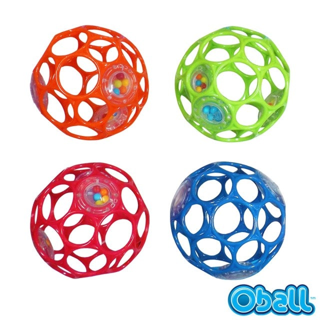 KIDS II OBALL 4吋沙沙洞動球 1