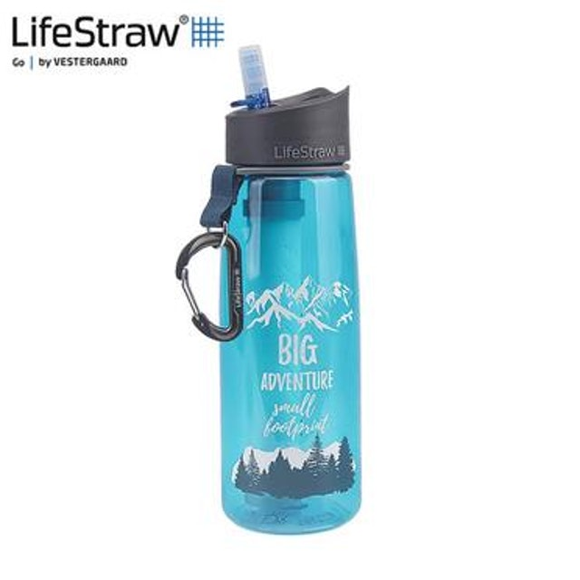LifeStraw Go 二段式過濾生命淨水瓶 1