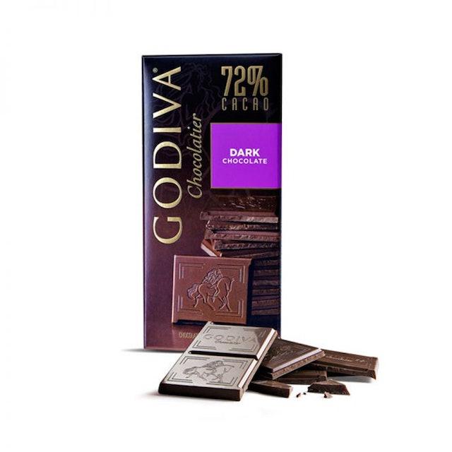 GODIVA 72% DARK TABLET 黑巧克力磚 1