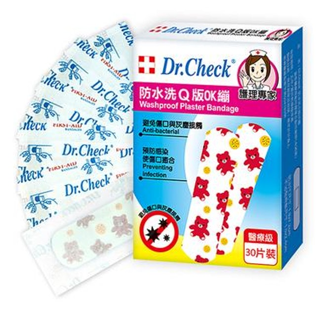 Dr.Check  防水洗Q版OK繃 1