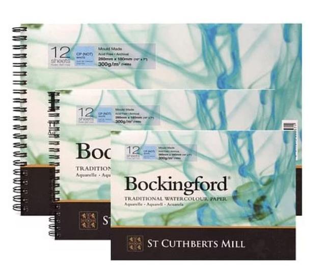 Bockingford  冷壓水彩本 1