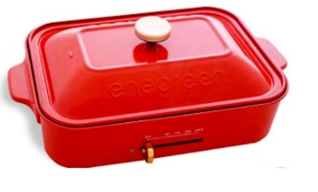 enegreen  日式多功能烹調電烤盤 1