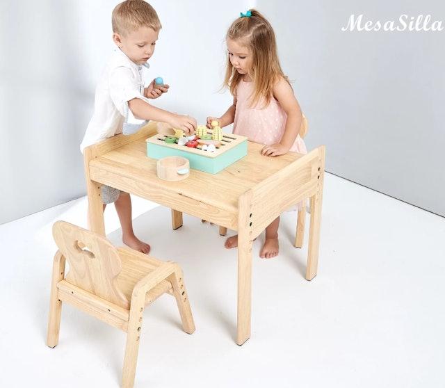 MesaSilla   寶寶自主學習桌椅組 1
