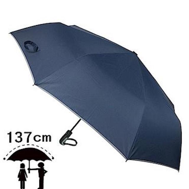 2mm 超大!運動型男超大傘面自動開收傘 1