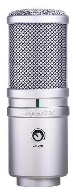 Superlux舒伯樂  USB電容式麥克風  1
