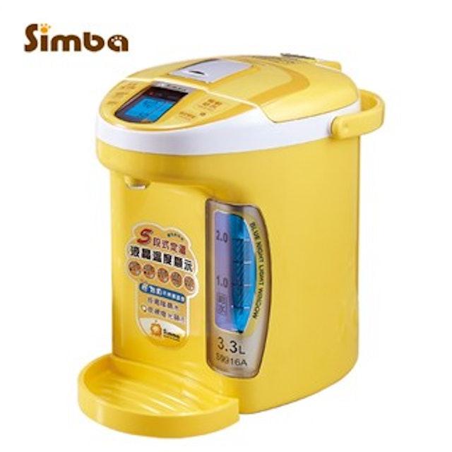 Simba小獅王辛巴 五段式電腦夜光液晶定溫調乳器 1